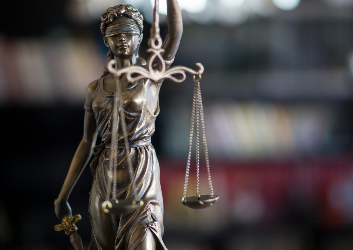 A law statue