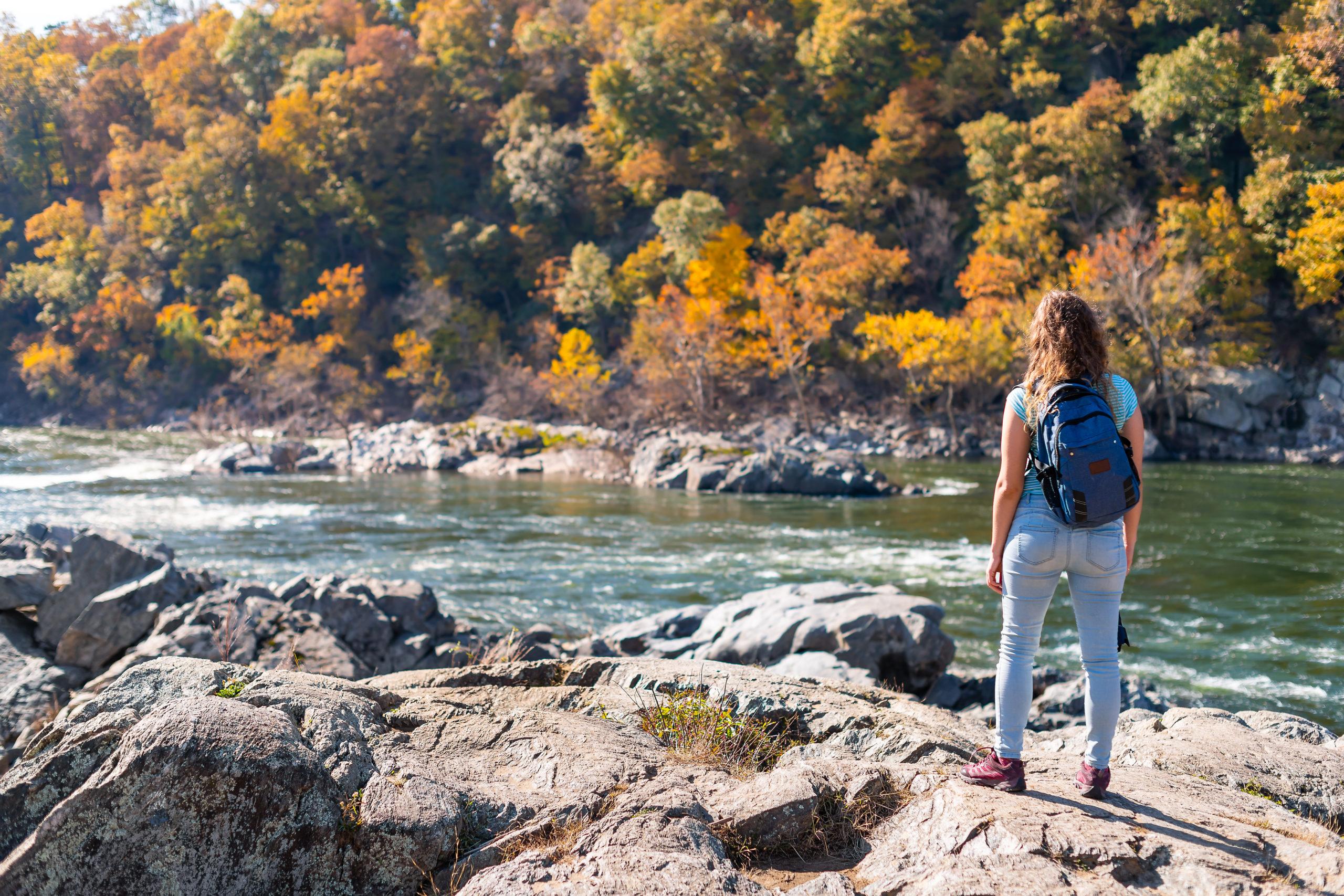 Hiking the Potomac | hiking trails in Arlington, VA