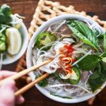 bowl of Vietnamese pho | best pho in Arlington, VA